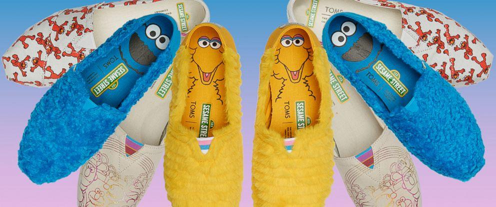 SHOP Shoes Toms Seseme Street