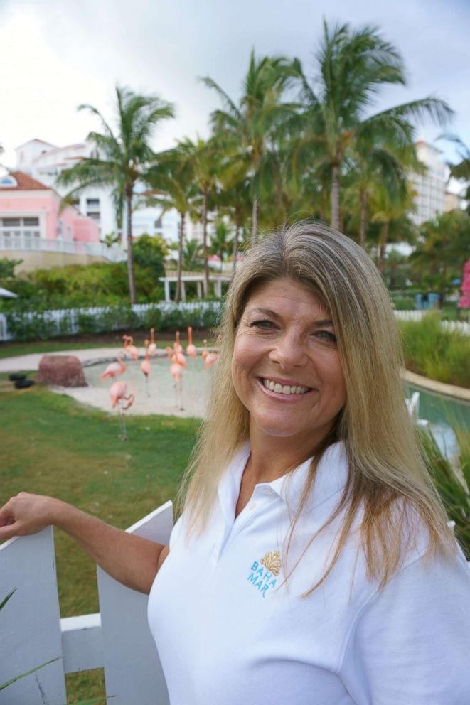 PHOTO: Chief Flamingo Officer Stacy Spurlock.