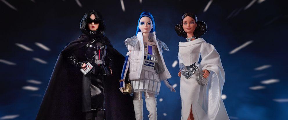 PHOTO: 2019 Star Wars™ Barbie® Dolls