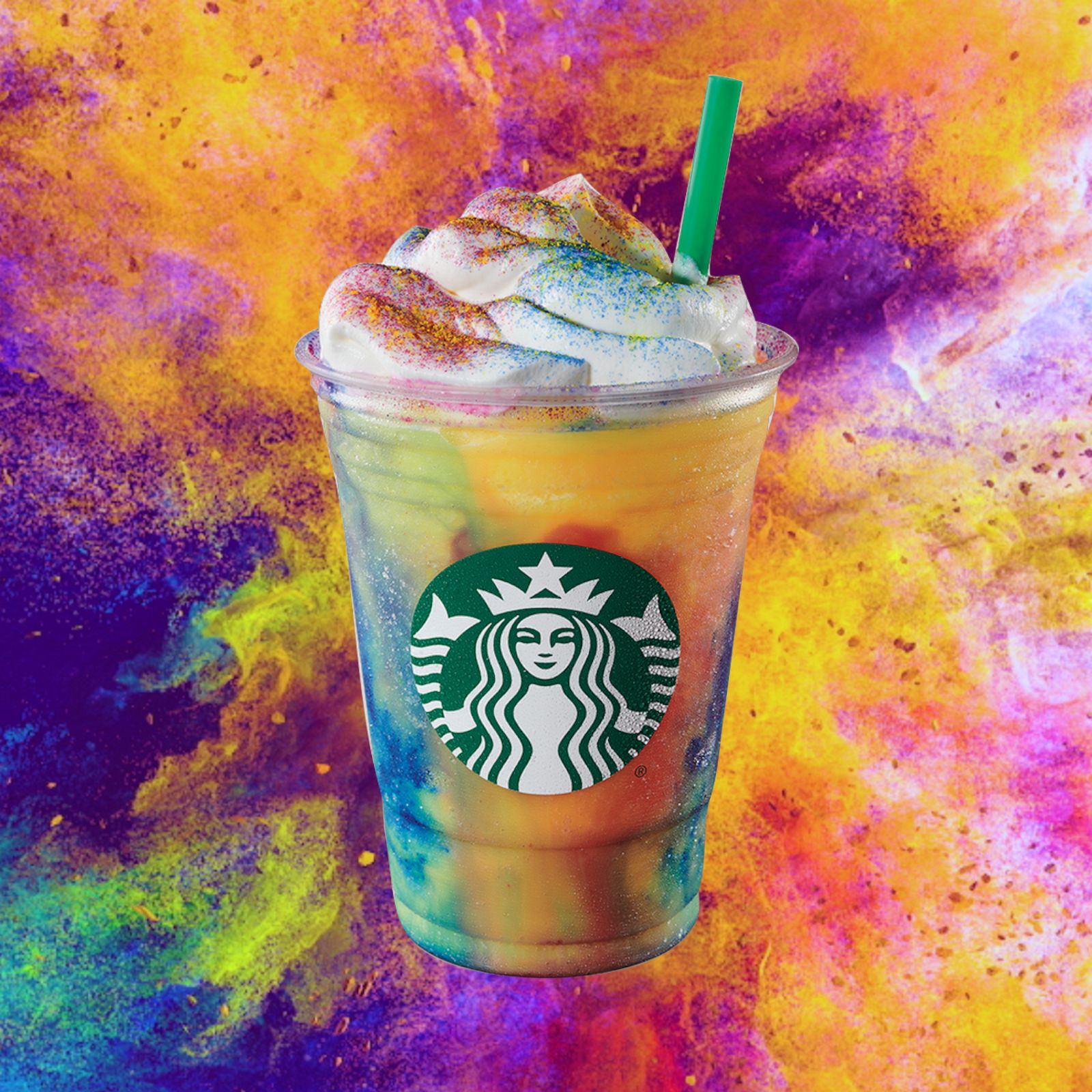 Starbucks Debuts Colorful New Tie Dye Frappuccino For Summer