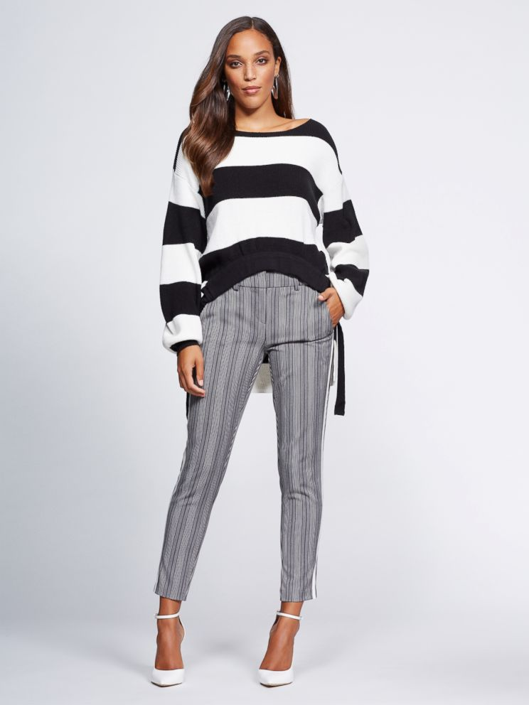 PHOTO: This sweater and these pants are part of Gabrielle Unions latest NY & Co. collection.