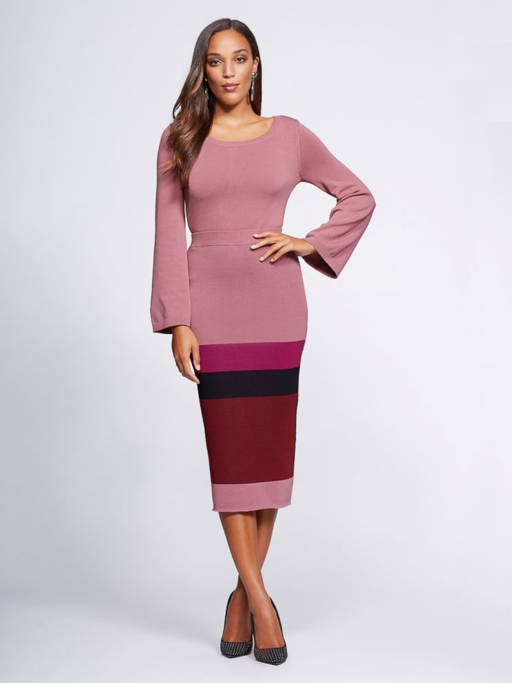 PHOTO: This sweater skirt is part of Gabrielle Unions NY & Co. collection.