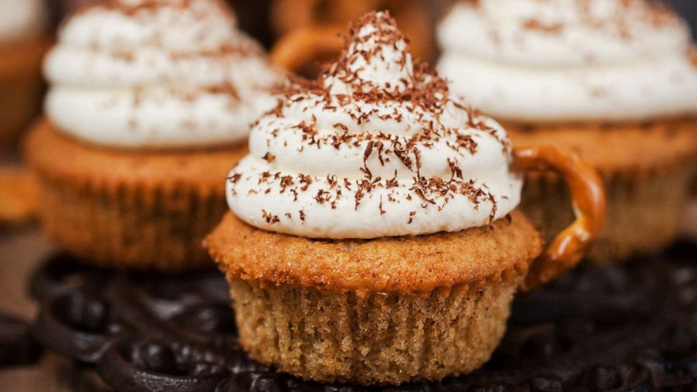PHOTO: Leftover Thanksgiving sweet potato cupcakes with marshmallow topping.