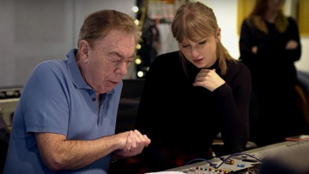 Taylor Swift and Andrew Lloyd Webber compose haunting new song for 'Cats'