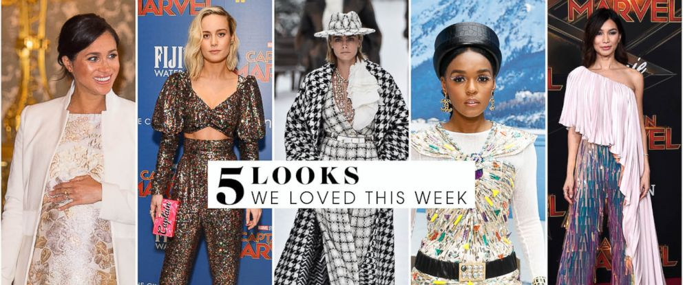 ce3fa77eb6ff 5 looks we loved this week from Cara Delevingne in Chanel to Brie ...