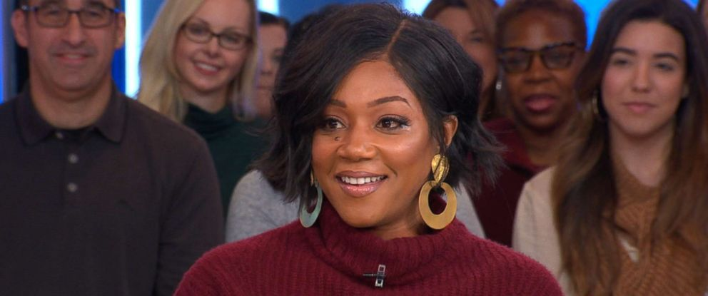 """PHOTO: Tiffany Haddish stopped by """"Good Morning America"""" where she opened up about her new movie, and what shes looking for in a man."""