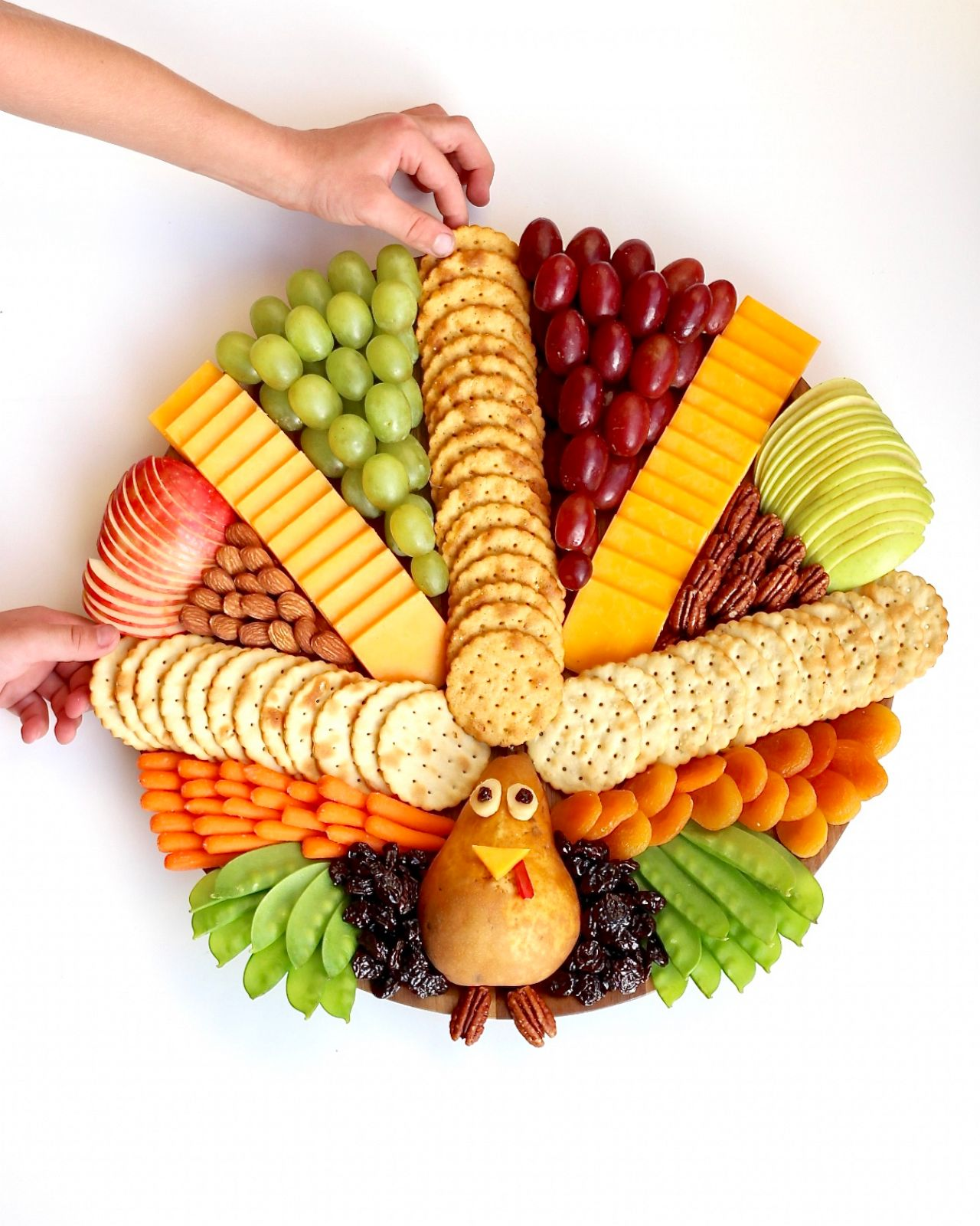 PHOTO: This turkey snack board from The Baker Mama is a fun and festive addition for Thanksgiving.