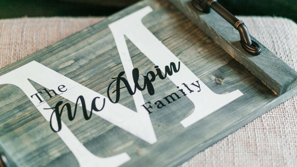 Kevin and Ashley McAlpin started their own company, McAlpin Creative.