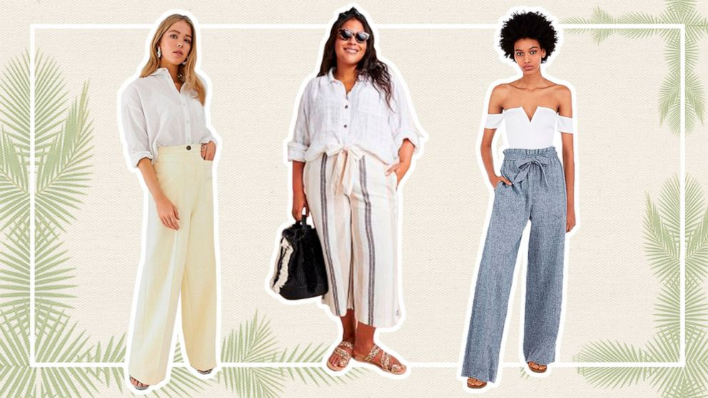7df141bbc010 15 perfect lightweight summer pants to shop right now | GMA
