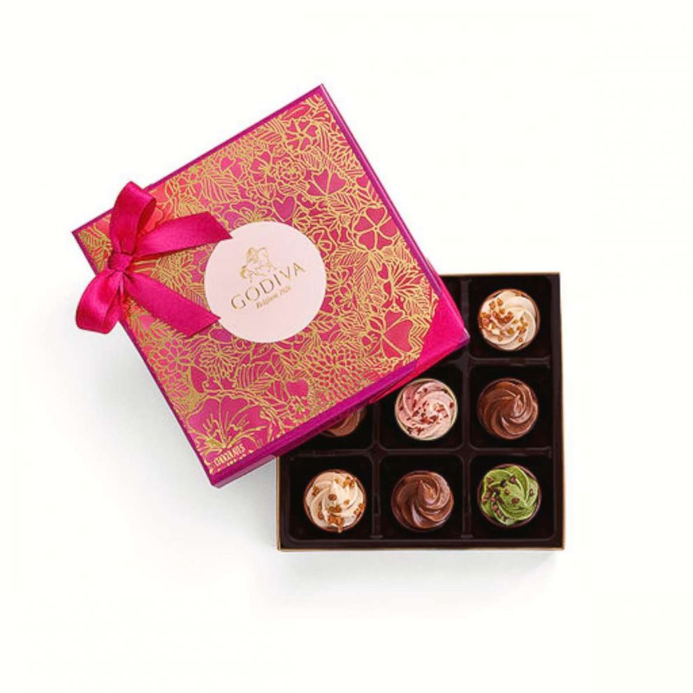 PHOTO: GODIVAs new cupcake-inspired collection is here just in time for Valentine's Day.