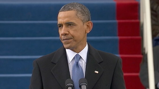 VIDEO: President Obama's 2nd Inaugural Address