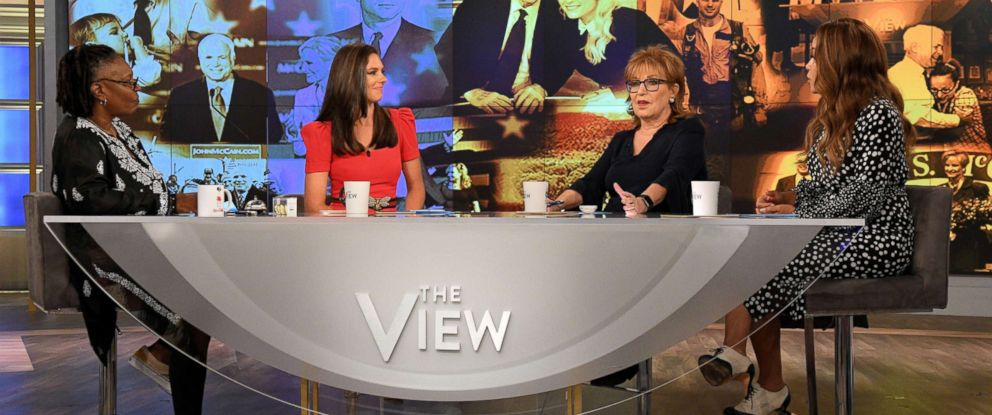 "PHOTO: ""The View"" premieres with new co-host Abby Huntsman."