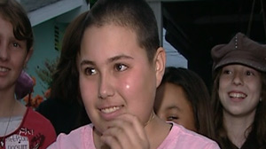 10-Year-Old Girl With Breast Cancer Looking on the Bright Side
