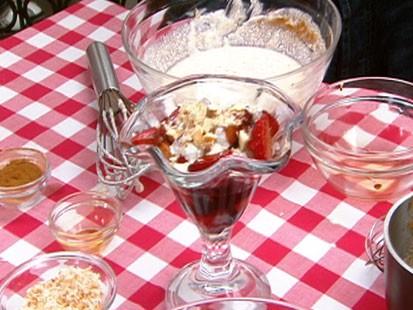 Balsamic Strawberries with Ricotta