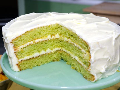 Lime Pound Cake Jello