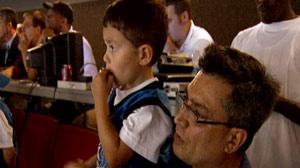 Orlando Magic Helps Mute Boy Find His Voice