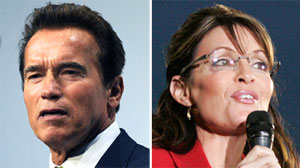 Arnold Schwarzenegger slams Sarah Palin on climate