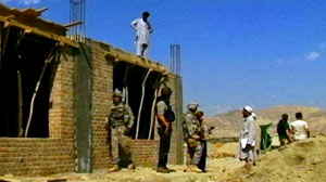 Troops Battle Taliban and Work to Rebuild Nation