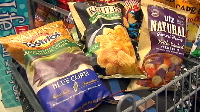 VIDEO: Nutritionist Cynthia Sass explains what type of chips are the healthiest.