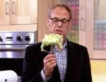 "PHOTO Alton Brown is shwon with avocado ice cream on ""Good Morning America."""
