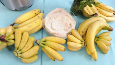 PHOTO: Give Daphne Oz's banana whip a try as a tasty treat tonight.