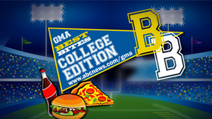 PHOTO Official Rules for GMA Weekends Best Bites Challenge: College Edition Enter Your Favorite College Hangout or Restaurant That Serves the Best Food