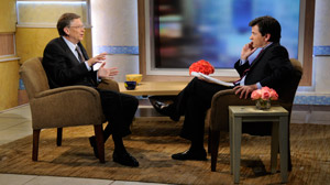Bill Gates Supports Bank Fees, Expects Tax Increases