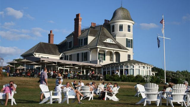 PHOTO: Once a summer home for a Harvard University professor, Newport's Castle Hill Inn is now a luxury hotel that provides Newport's visitors the warmth and quiet of 19th century seacoast life.