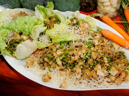 P.F. Changs Chicken in Soothing Lettuce Wraps