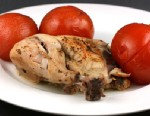 """PHOTO:Stephanie ODea shares a recipe of herb chicken with summer tomatoes with """"Good Morning America."""""""