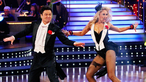 "PHOTO Donny Osmond and Kym Johnson compete in ""Dancing with the Stars,"" the finals."