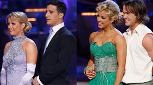 Melissa Joan Hart and Mark Ballas and Louie Vito and Chelsie Hightower were eliminated from ?Dancing With the Stars.?