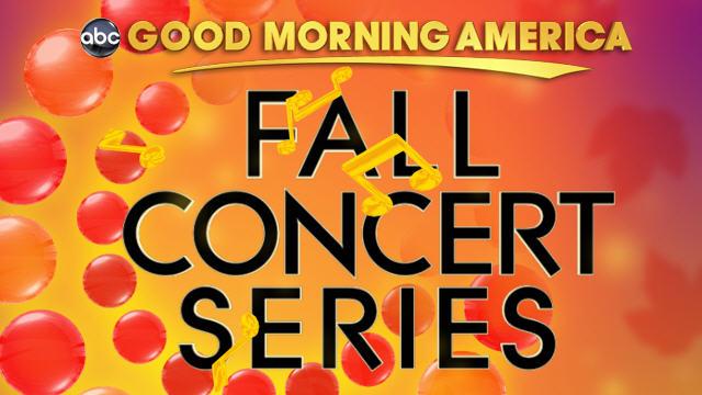 "PHOTO:""Good Morning America"" Fall Concert Series 2011 logo."