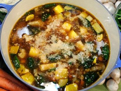 Merveilleux Garden Vegetable Soup
