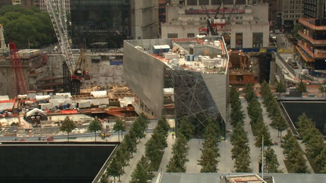 VIDEO: Robin Roberts reveals latest progress in rebuilding of the World Trade Center.