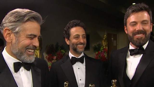 VIDEO: The producers of the Best Picture winner discuss winning the Oscar.