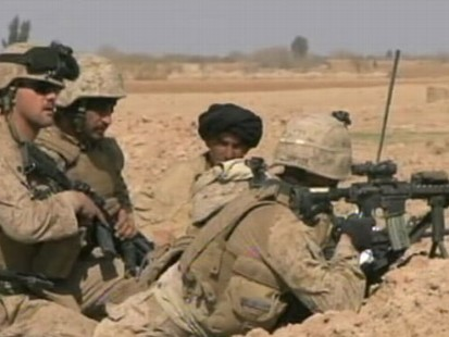VIDEO: Military Offensive in Afghanistan