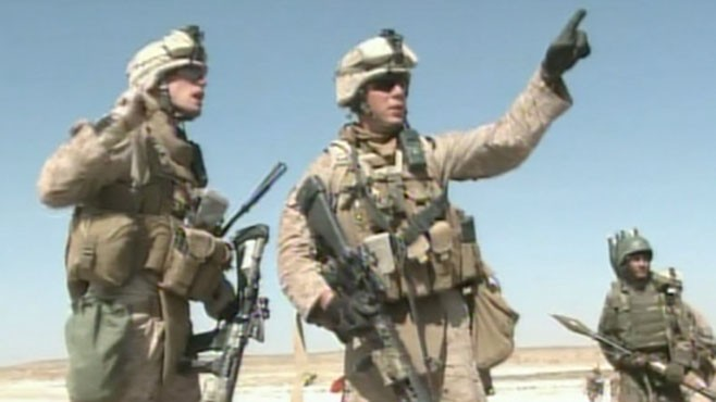 VIDEO: Miguel Marquez reports how Taliban forces are fighting back with bombs.
