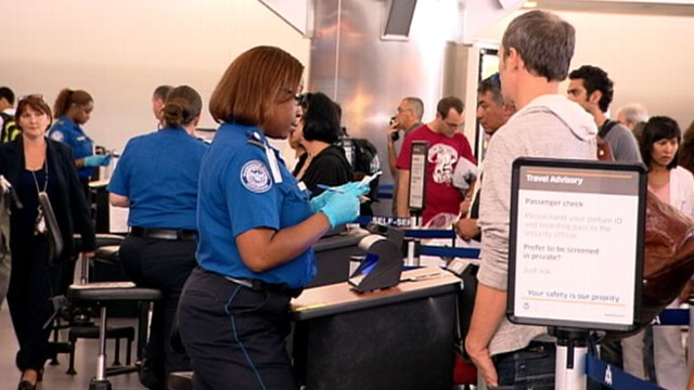 VIDEO: Items handed over to TSA agents at airports are resold at big discounts.