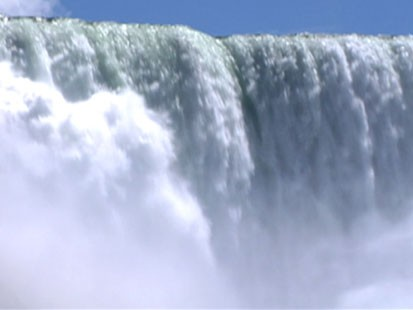A picture of Niagara Falls.