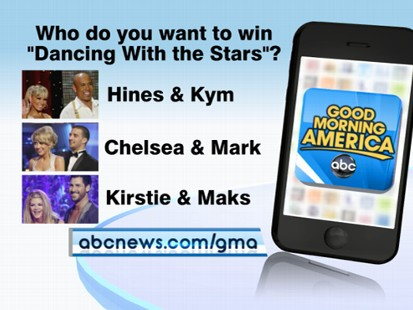"""VIDEO: Use the """"Good Morning America"""" app to vote live on the hot topics of the day."""