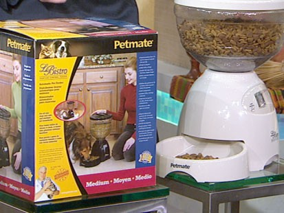 VIDEO: A automated pet feeder.