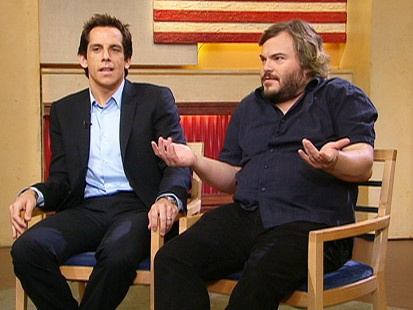 Ben Stiller and Jack Black