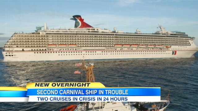 Carnival Cruise Ships Dream Legend BothExperiencing Trouble Near - Cruise ship trouble
