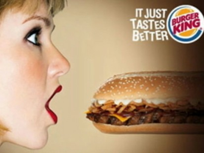 VIDEO: Fast Food Ads Heat Up the Airwaves