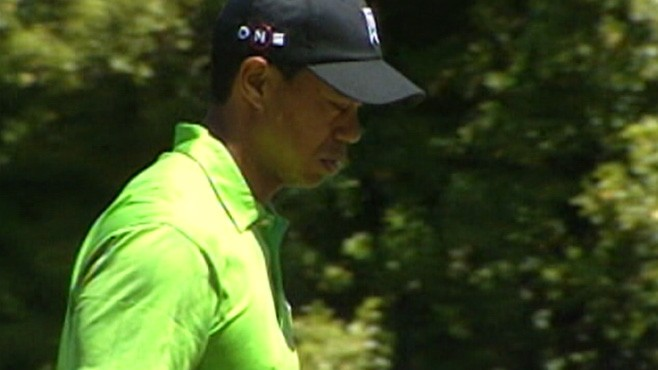 VIDEO: Tiger Woods admits his divorce has weighed on him all summer.