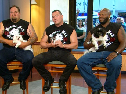 "VIDEO: The bikers in ""Rescue Ink"" spend time saving cats and dogs."