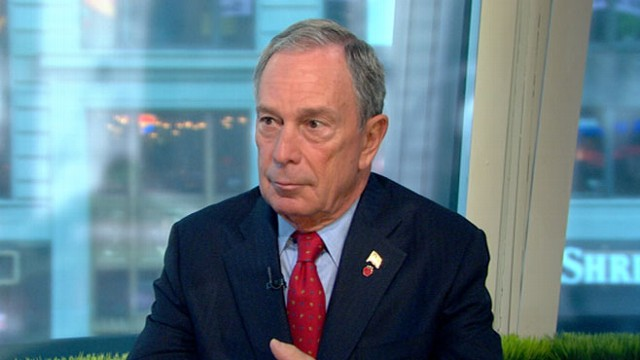 VIDEO: New Yorks mayor discusses condition of Wall Street following weeks of selloffs.