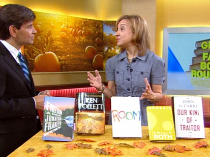 VIDEO: Janice Kaplan lists the best new books to expect this fall.