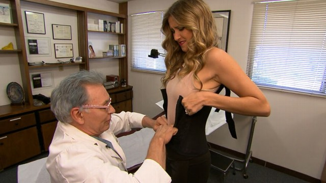 VIDEO: One woman claims to have lost 6 inches by wearing tight-fitting corsets.